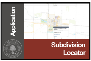 Image of Subdivision Locator Application