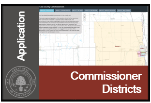 Image of Commissioner Districts Application