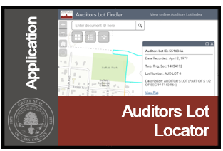 Image of Auditors Lot Locator