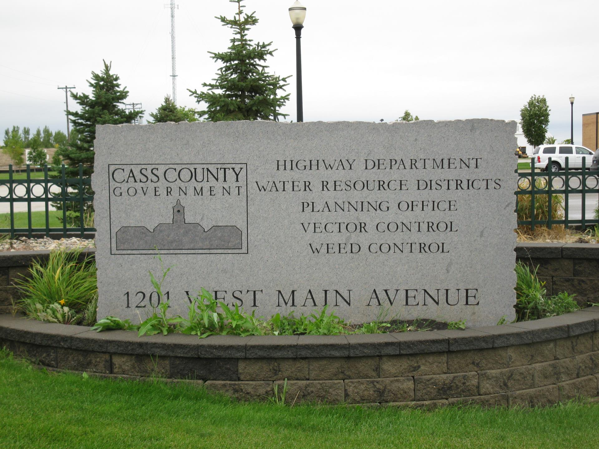 Hwy Dept Front Marquee